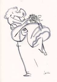 Wedding Couple Drawing At Getdrawingscom Free For Personal Use