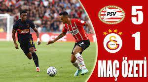 PSV 5-1 Galatasaray Özet Şampiyonlar Ligi Ön Eleme - YouTube