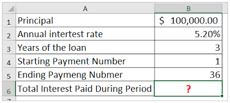 Debt Calculator Excel How To Calculate Total Interest Paid On A Loan In Excel
