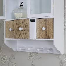 wall cabinet with drawers white wooden wall cabinet with 3 drawers and hooks sektion wall cabinet