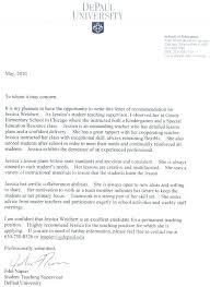 Sample Letter Of Recommendation For A Teacher Position Recommendation Letter For Child Care Job E Portfolio Letters Yomm