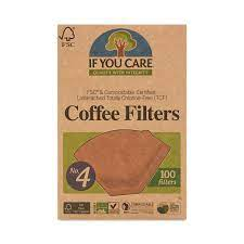 Packing tea, coffee, herbal tea ect. 4 Cone Compostable Certified Coffee Filters Thrive Market