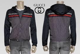 gucci hoodie mens. new gucci men\u0027s signature padded zipper jacket hoodie price $39.3, picture #2 gucci hoodie mens