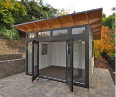 outside office shed. backyard shed office gym google search studio pinterest outside