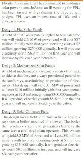 FPL To Build 8 New Florida Solar Energy Plants Add 25M Panels By Florida Power And Light Solar