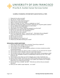 Sample Nursing Interview Questions Tips