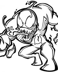 Small Picture Venom Coloring Pages Free Printable Coloring Pages 20236