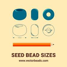 Seed Bead Size Chart Vector Clipart Of Round Seed Beads Vector Beads