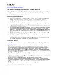 cover letter sample staffing recruiter resume cover letter captivating sample recruiter resume examples senior technical recruiter sample recruiter resume