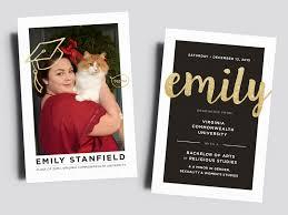 Print Graduation Announcement Graduation Announcement Emily Stanfield By Jordan Watts On