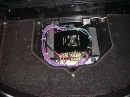 gl1800 stereo amplifier installation which is used for the optional cd player or cb