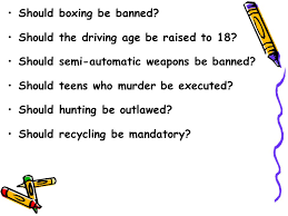 bw in journal brainstorm as many controversial issues as you can 19 should boxing be banned