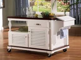 Kitchen Island Small Space Kitchen Island Carts Ideas For Small Spaces All Home Ideas