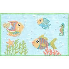 beach bath mat p adorable fish party rug for your beach themed room why not beach themed bath mats