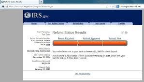 2015 Irs Tax Refund Schedule Irs Set First Direct Deposit