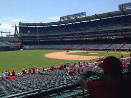 Angel Stadium Section T207 Home Of Los Angeles Angels Of