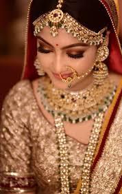 bronzey brown eyes indian bridal makeup