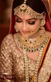 bronzey brown eyes indian bridal makeup