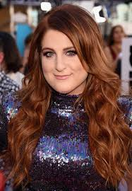 best ideas for makeup tutorials meghan trainor sparkling purple eye makeup loose waves purple eye makeup loose waves and billboard awards 2016