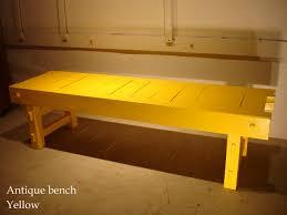 for antique yellow bench coffee table cibone handling pat heineke s series wind