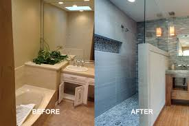 master bathroom remodels before and after. Delighful Remodels Beforeaftermasterbatharea Remodeling  And Master Bathroom Remodels Before After