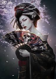 Illustrations Digitales par Yichuan Li | Geekenvrac #Digitales #Geekenvrac  #Illustrations #li #par #Yichuan Others #Dig… | Geisha art, Fantasy art,  Geisha tattoo