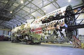 NTSB's TWA Flight 800 Reconstruction to ...