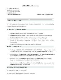 Document Controller Sample Resume