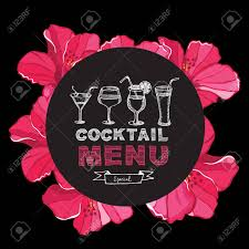 Cocktail Bar Menu, Template Design. Royalty Free Cliparts, Vectors ...