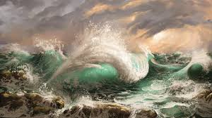 <b>Digital Oil Painting</b> - Shaping the Waves - Photoshop Painting with ...