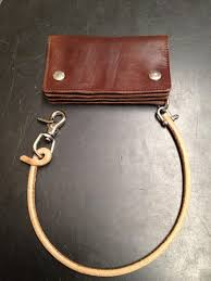 preview wallet lanyard genuine leather nature stainless steel sle