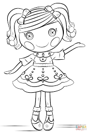 Small Picture Lalaloopsy coloring page Free Printable Coloring Pages