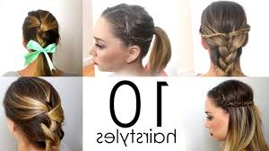 Hairstyles For School Step By Step Hairstyles Simple For School Simple Puff Hairstyles For Medium