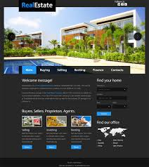 Real Estate Website Templates Magnificent 48 Best Free Real Estate Templates