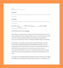 Late Rent Notice Template Pdf