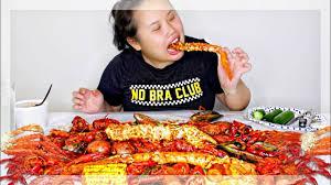 MUKBANG SEAFOOD BOIL! 먹방 (EATING SHOW ...