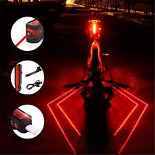 Plextone 3 Modes Spider Rear LED <b>Taillight</b> (1PCS) <b>Night</b> Run ...