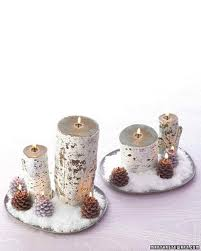 Log Crafts Candle Crafts Martha Stewart
