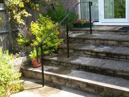 external handrails for steps uk. freestanding garden step rails external handrails for steps uk
