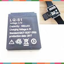 Pin đồng hồ thông minh DZ09,X6,A1, A8L, A8Li, GM08, Apwatch, GM08, A9L, W88  380Mah -dc2521
