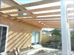 hip roof patio cover plans. Patio Roof Framing How To Build A Cover Porch Hip Plans