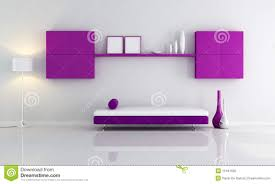 Purple Living Room Purple And White Living Room Royalty Free Stock Image Image