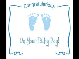 Congratulations On Your Baby Boy Musical Birthday Congratulation For A Son Youtube