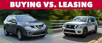 Buy Vs Lease A Car Should You Buy Or Lease Your Next Nissan At Olympia Nissan