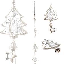 Metallkette Herz Baum Stern Weihnachtsdekoration Fensterdekoration Dekohänger