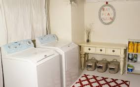 Unfinished Basement Laundry Room Ideas  Ksknus - Ununfinished basement before and after