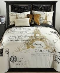 Paris Reversible 8 Pc. Gold California King Comforter Set   Gold