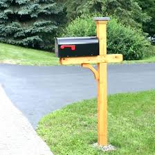 Double Mailbox Post Double Mailbox Post Plans Full Image For Single