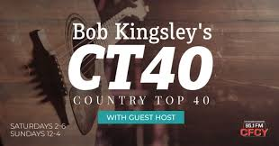 Bob Kingsley Country Top 40 Chart Bob Kingsleys Country Top 40 Cfcy