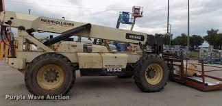 Ingersol Rand Forklift 1998 Ingersoll Rand Vr 642 Telehandler Item Dc4977 Sold